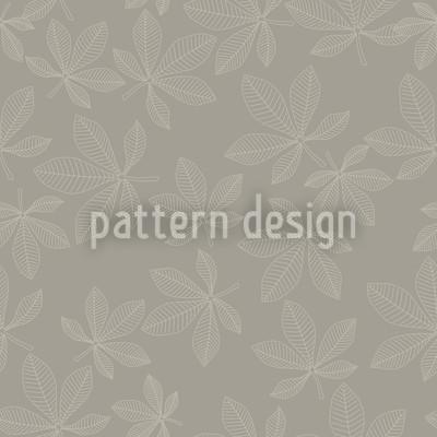Kastanienblätter Rapportiertes Design