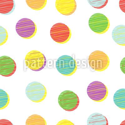 Schattenkreis Vektor Muster