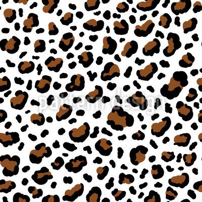 Gepardenfell Nahtloses Vektormuster