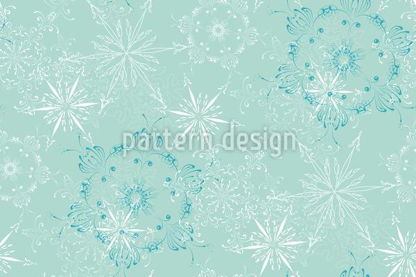 Winter Nahtloses Vektormuster