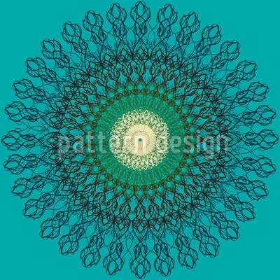 Filigrane Kreise Designmuster