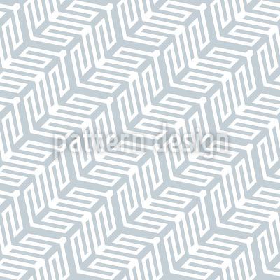 Movimento Diagonal De Formas Geométricas Design de padrão vetorial sem costura