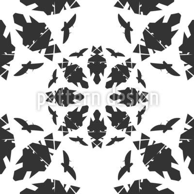 Circulo abstracto Estampado Vectorial Sin Costura