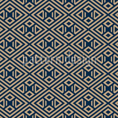 Einfache Geometrische Formen Nahtloses Vektormuster
