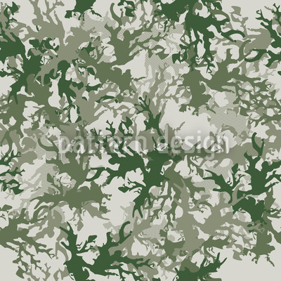 Camouflage Grün Vektor Muster