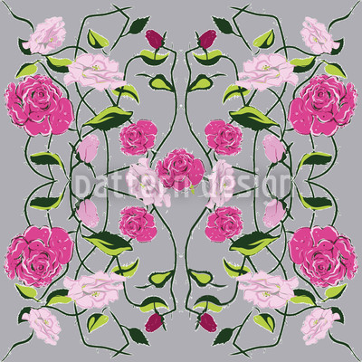 Snow-White And Rose-Red Vector Design