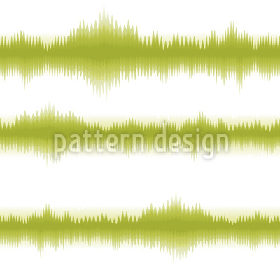 Batik Stripes Verde Estampado Vectorial Sin Costura