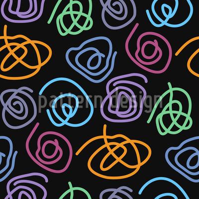 Spiralen Musterdesign