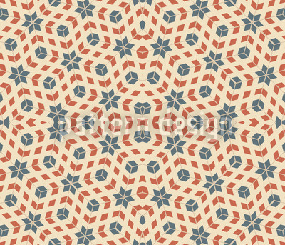 Symmetrical Stars Repeating Pattern