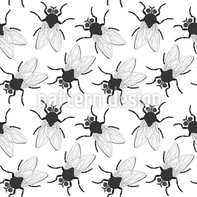 Krabbel Fliegen Designmuster