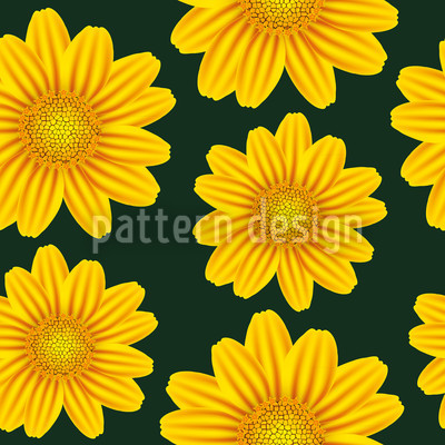 Yellow Chamomile Vector Design