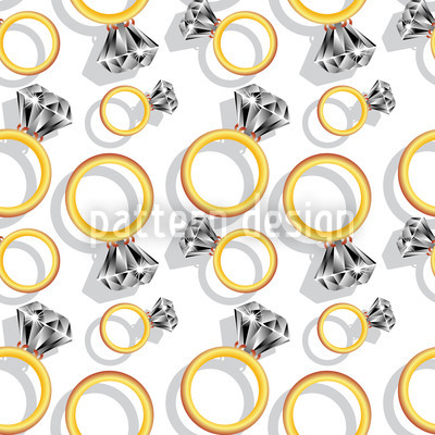 Diamond Ring Pattern Design