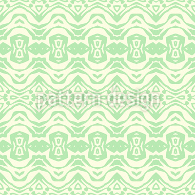Horizontale Abstrakte Ketten Vektor Ornament