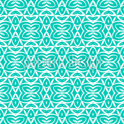 Symmetrische Formen Nahtloses Vektor Muster