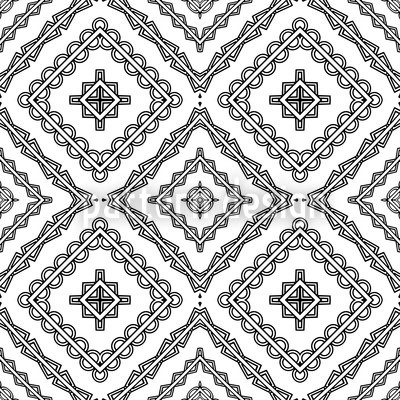 Arabica Seamless Vector Pattern Design