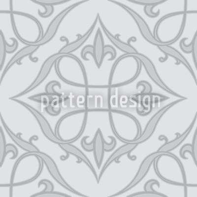 Renaissance Grey Repeat Pattern