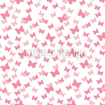Butterflies Party Seamless Vector Pattern Design