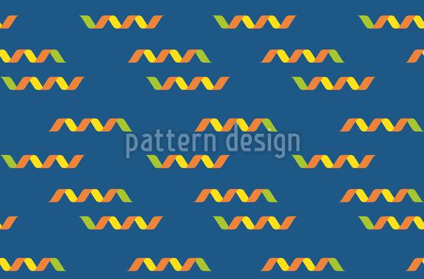Konfettiband Muster Design