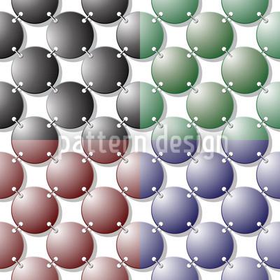Metallringe Nahtloses Muster