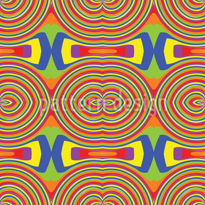 Rainbow Vector Pattern