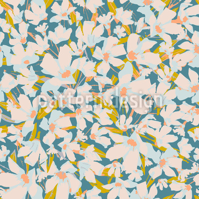 Delightful Spring Seamless Vector Pattern Design