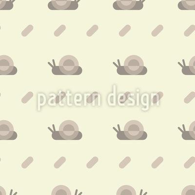 Geometrische Schnecke Nahtloses Muster