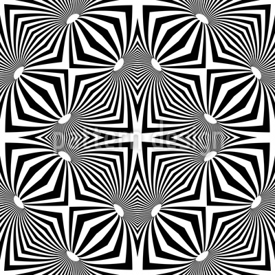 Psychedelic Seamless Vector Pattern Design