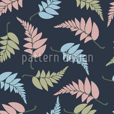 Imaginäre Blätter Musterdesign