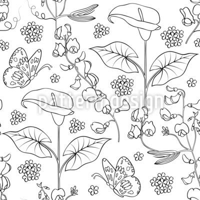 Naturvariation Nahtloses Muster