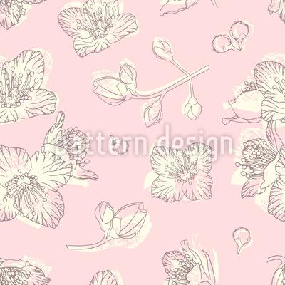 Jasminblüte Vektor Muster