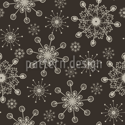 Light And Flaky Seamless Vector Pattern Design