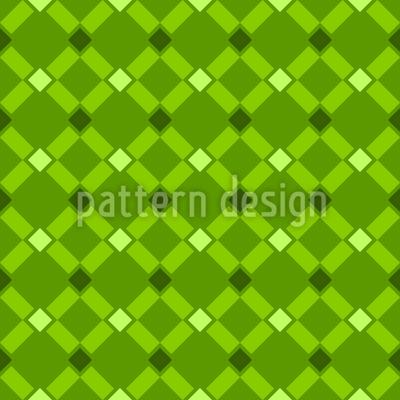 Diamantes delicados Design de padrão vetorial sem costura