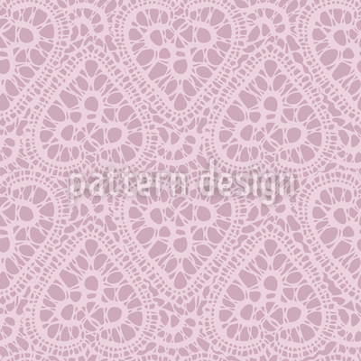 Bewildered Hearts Pattern Design