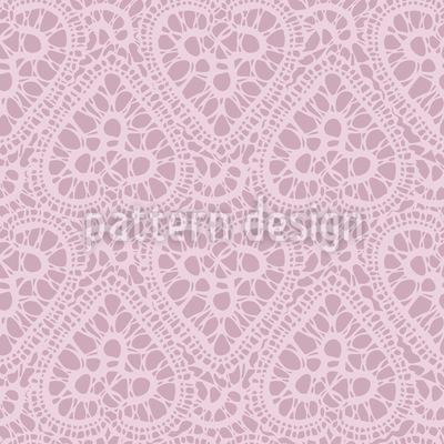 Verwirrte Herzen Muster Design