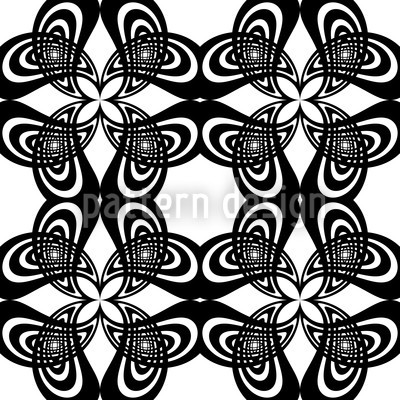 Florabella Retro Seamless Vector Pattern Design