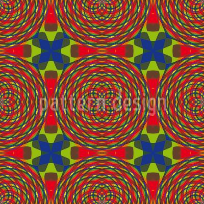 Kaleidoscope Clutter Repeat