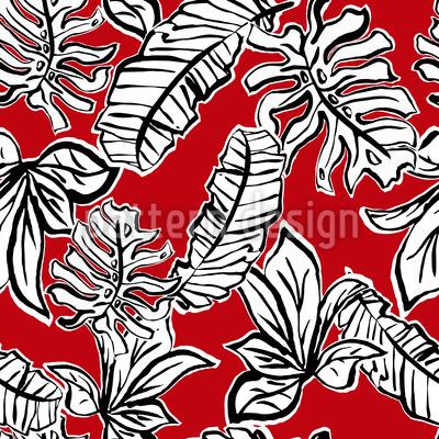 Power Blätter Vektor Muster