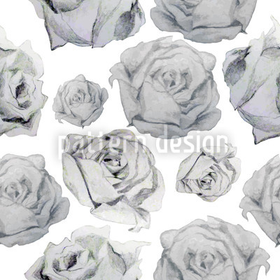Rosa Graphia Vector Pattern