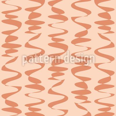 Waves With Dash Pattern Design