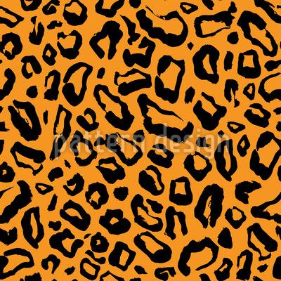 Einfaches Leopardenfell Nahtloses Vektormuster