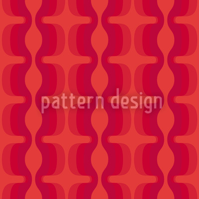 Electric Red Pattern Design