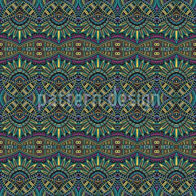 対称エスノドリーム シームレスなベクトルパターン設計