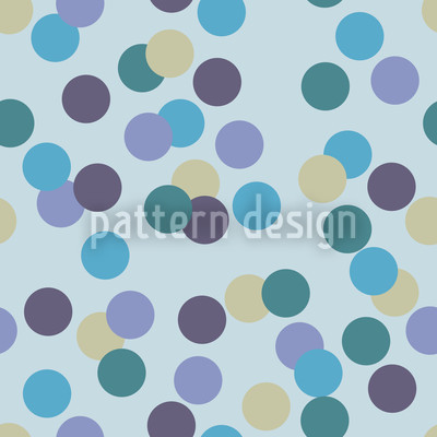Konfetti Blau Vektor Muster