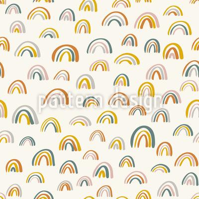 Kleine Regenbogen Nahtloses Vektormuster