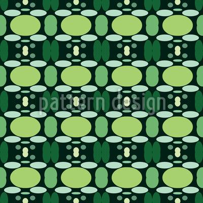 Sobreposição de Formas Geométricas Design de padrão vetorial sem costura