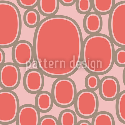 Global Oval Seamless Vector Pattern Design