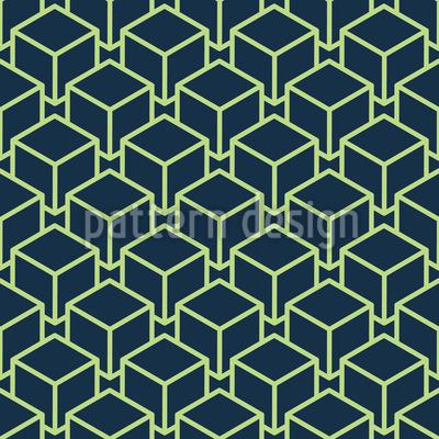 Cubo Moderno Design de padrão vetorial sem costura