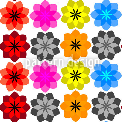 Flora Pop Design Pattern
