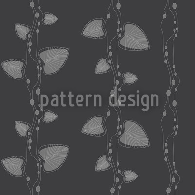 Underwater Dark Seamless Vector Pattern Design