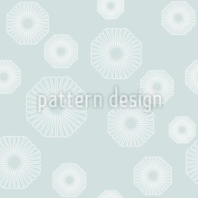 Composizione floreale ottagonale disegni vettoriali senza cuciture